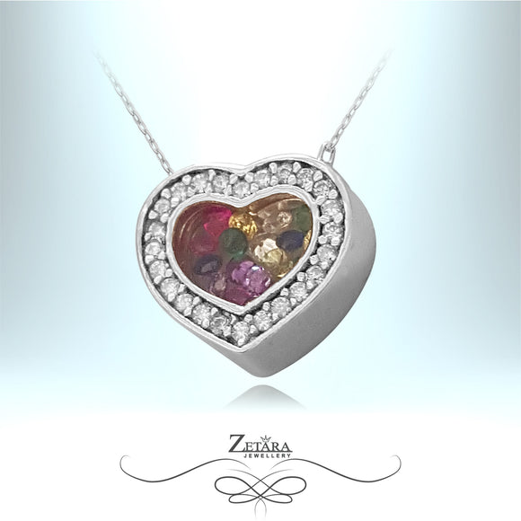 LUX L'amour Czech Crystal Collection - Sterling Silver
