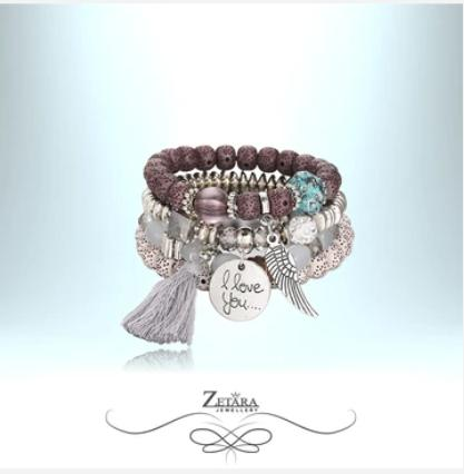 Crystal Bracelets Collection -  Costume Jewellery