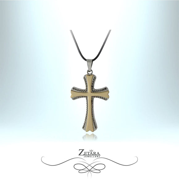 Zetara MAN - Elysium Cross Neck Chain