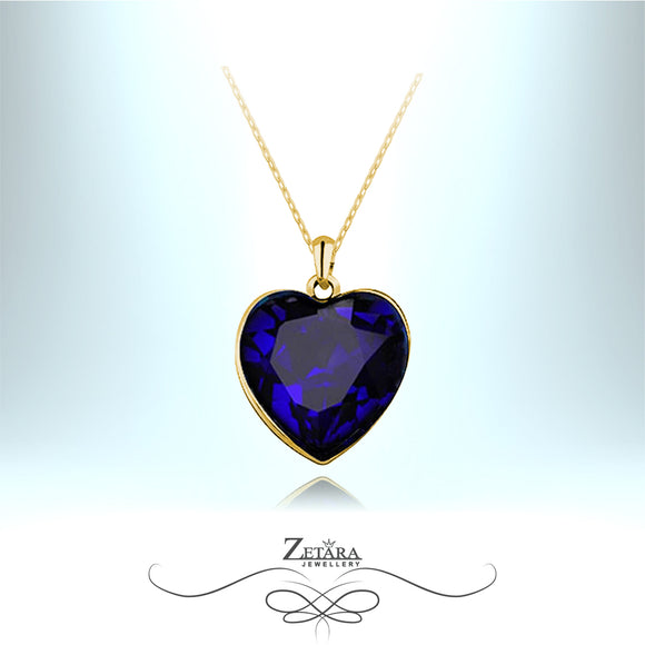 The Real Heart of The Ocean - Titanic Necklace