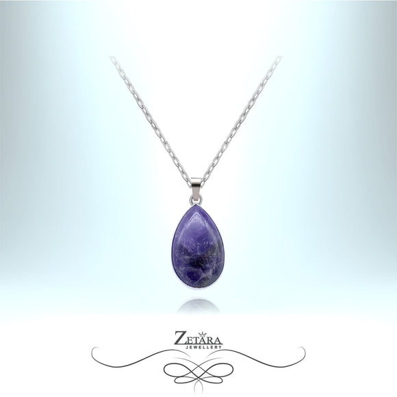 Lapis Lazuli Necklace - Birthstone for December