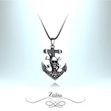 Zetara MAN - Jolly Roger Neck Chain