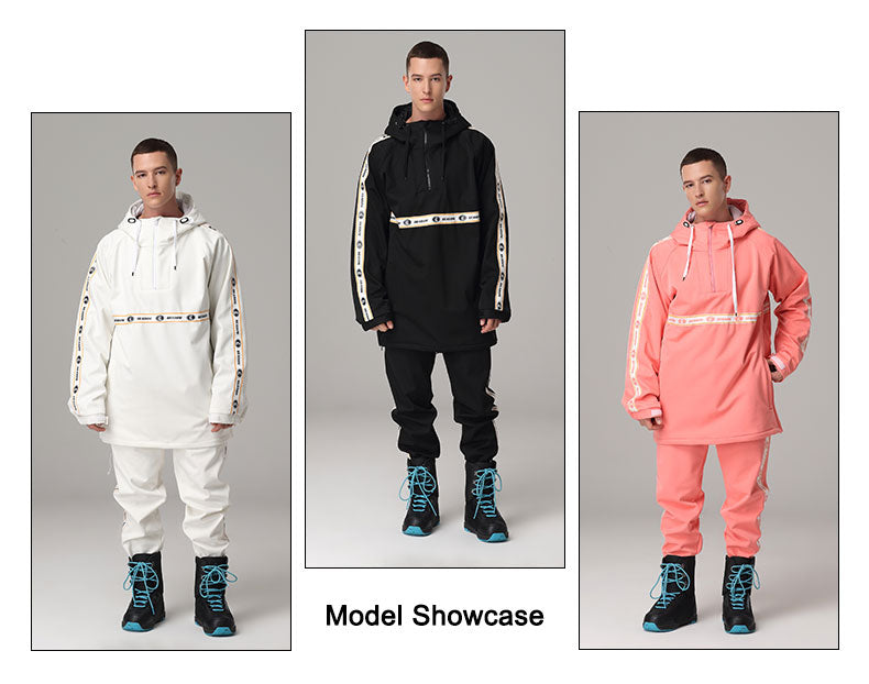 Mens Searipe Mad Craft Unisex Two Pieces Snow Suit Sets