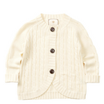 Load image into Gallery viewer, Little Charberry - Warm & Cozy Elongated Cable Knit Cardigan