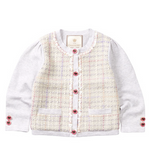 Load image into Gallery viewer, Little Charberry - Luxurious Elegant Plaid Cardigan