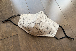Designer Mask - Cute - Happy Faces