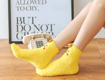 Load image into Gallery viewer, Yellow Chicken Socks in a Box