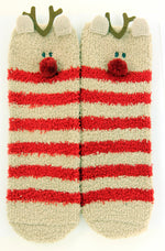 Load image into Gallery viewer, Reindeer Christmas Socks in a Box