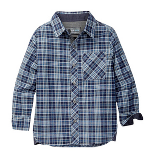 LOFT604 - Japanese fabric - Plaid Pattern woven shirt