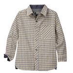 Load image into Gallery viewer, LOFT604 - Japanese fabric - Plaid Pattern woven shirt