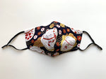 Load image into Gallery viewer, Japanese Fabric -  Lucky Cat Face mask