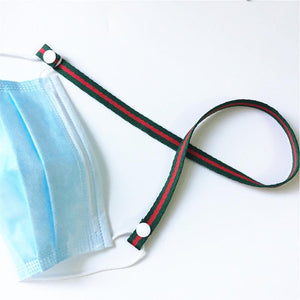 Colorful Nylon Lanyards for Masks
