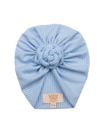 Ribbed Knot Turban