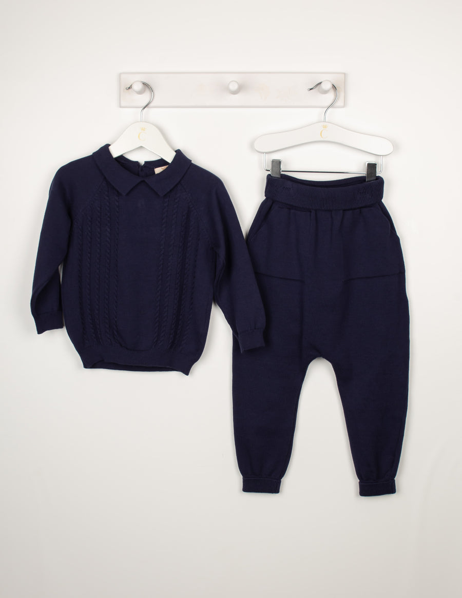 Knitted leisure set