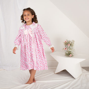 Floral dressing gown set