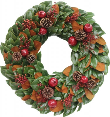 Christmas Traditions Wreath 28""