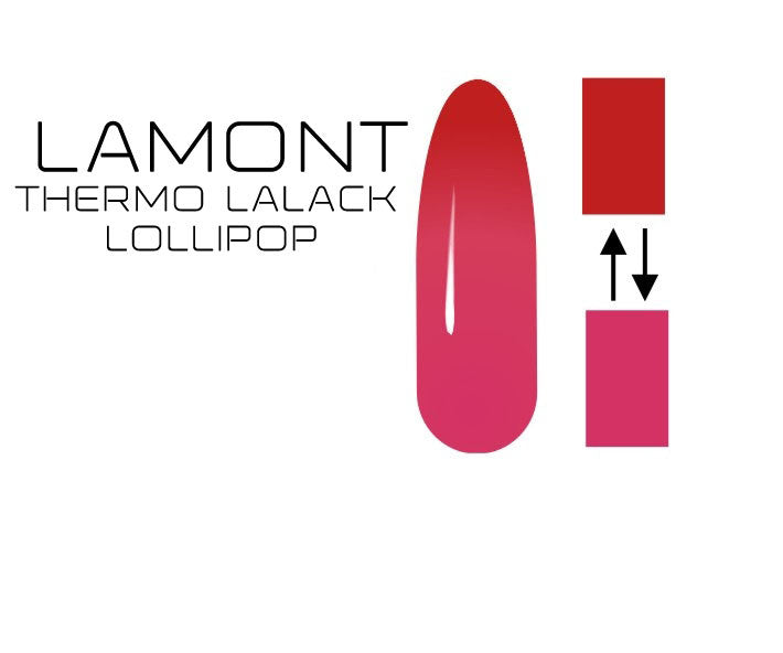 UV Nagellack Thermo Lollipop