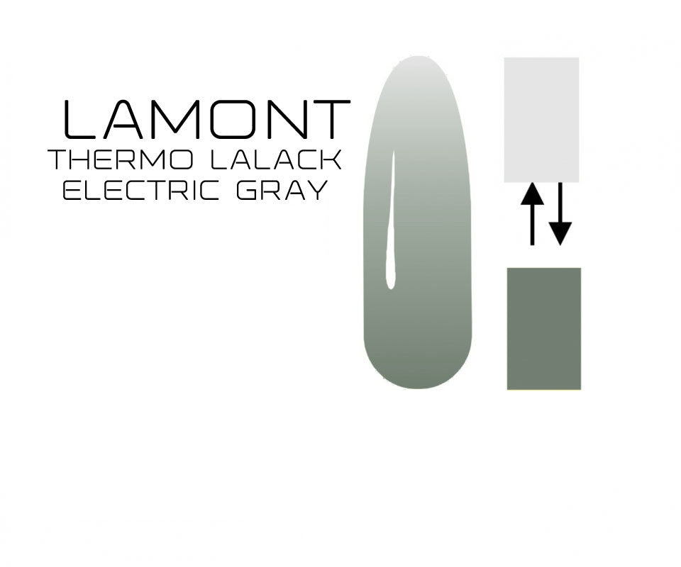 UV Nagellack Thermo Electric Gray