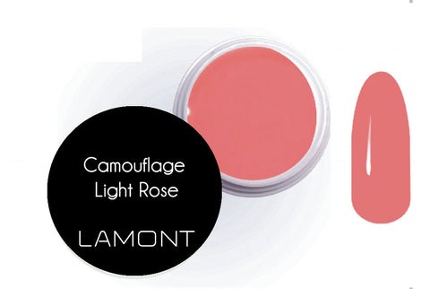 UV Gel camouflage light rose