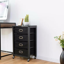 Load image into Gallery viewer, Rolling File Cabinet Mobile Storage Filing Cabinet w/ 4 Drawers