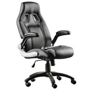 Gaming Chair Office Chair Swivel Chair Height-Adjustable Gaming Chair PC Chair Ergonomic Executive Chair with Armrests