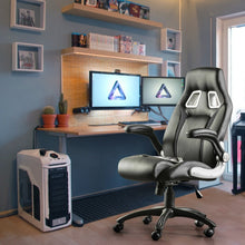 Load image into Gallery viewer, Gaming Chair Office Chair Swivel Chair Height-Adjustable Gaming Chair PC Chair Ergonomic Executive Chair with Armrests