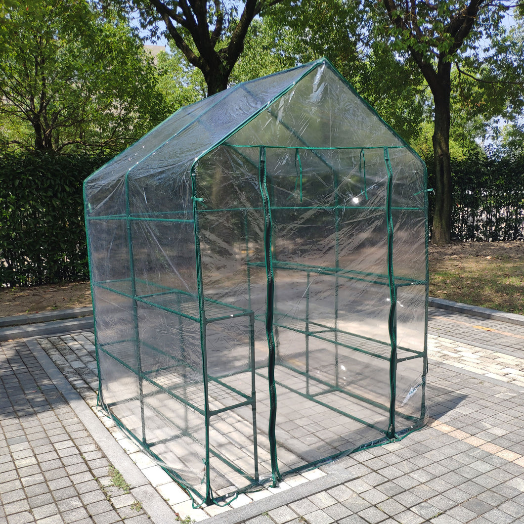 Green House Walk in Outdoor Plant Gardening Greenhouse 56