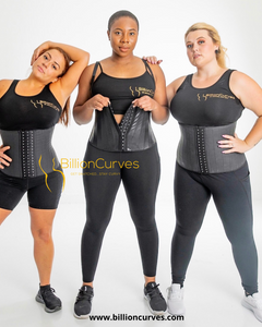Get Snatched 20 ++ Latex Steel boned Waist Trainer  - Waist Cincher for Weight Loss