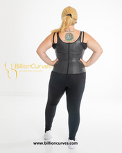 Load image into Gallery viewer, Get Snatched 20 ++ Latex Steel boned Waist Trainer Vest