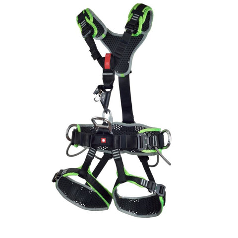 Ocun Thor Access 4Q (2020 Date of Manufacture) Harness's Ocun M/L Black and Green 4Q