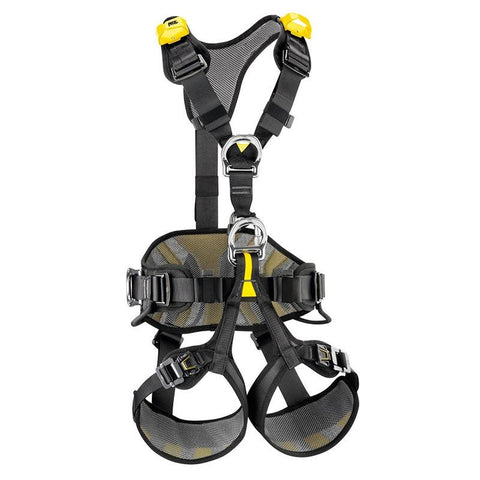 PETZL AVAO BOD FAST European version HARNESS Petzl 0 (Sm-Med) Yellow/Black