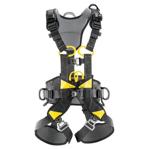 PETZL VOLT WIND European version HARNESS Petzl 0 (Sml-Med) Yellow/Black