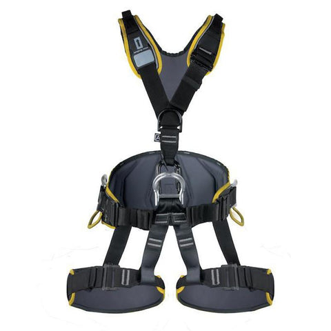 Singing Rock Expert 3D Harness's ALS Trade S Black with Yellow Standard