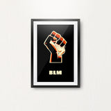 BLM Poster - Dove in Fist