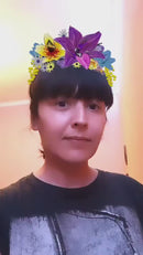 Flower Power Crown