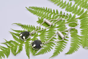 Moldavite Earrings