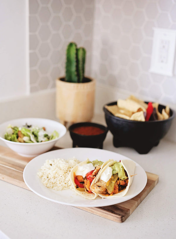 Tuesday - Chicken Fajitas