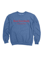 """Think Different"" Heather Blue Crewneck"