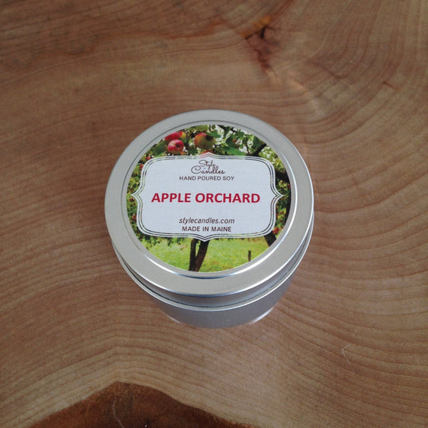 Apple Orchard Soy Travel Tin by Style Candles