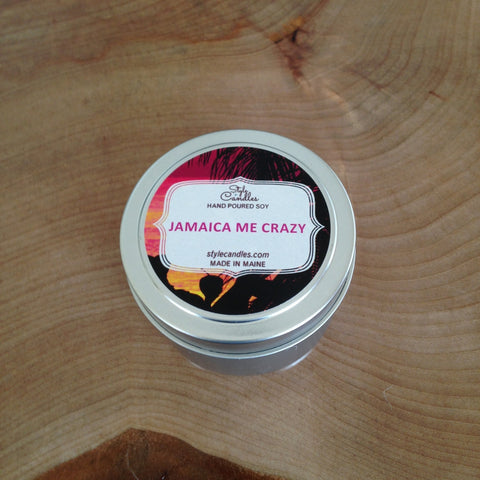 Jamaica Me Crazy Soy Travel Tin by Style Candles