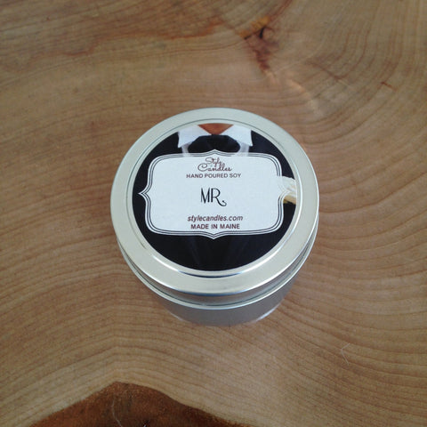 MR. Soy Travel Tin by Style Candles