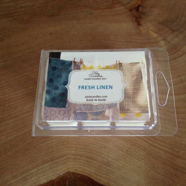 Fresh Linen Soy Wax Melts by Style Candles