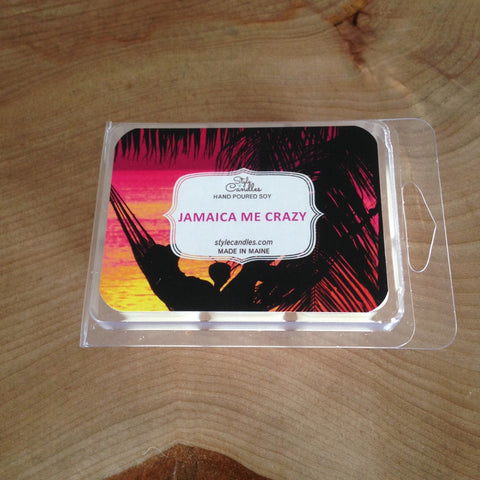 Jamaica Me Crazy Soy Wax Melts by Style Candles