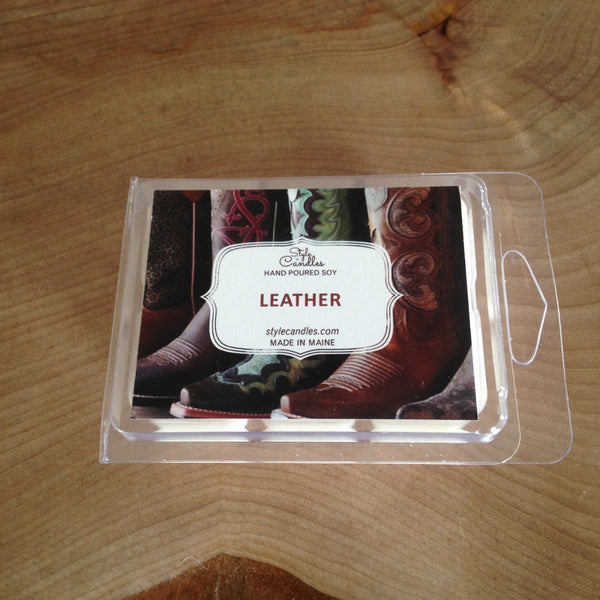 Leather Soy Wax Melts by Style Candles