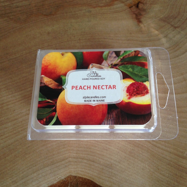 Peach Nectar Soy Wax Melts by Style Candles