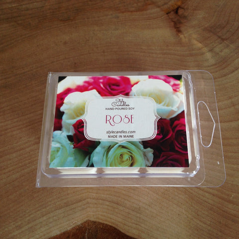 Rose Soy Wax Melts by Style Candles