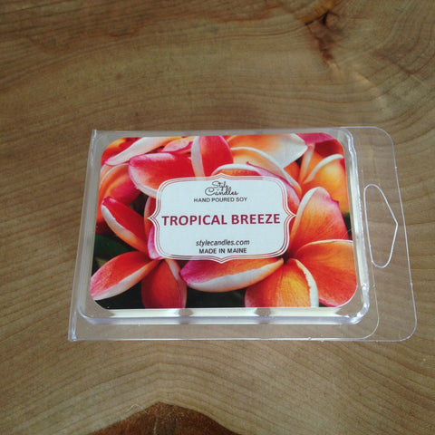 Tropical Breeze Soy Wax Melts by Style Candles