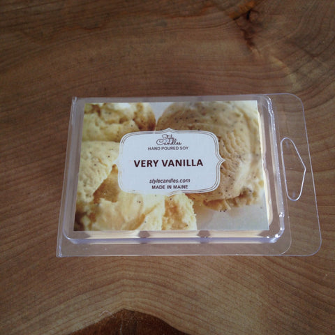 Very Vanilla Soy Wax Melts by Style Candles
