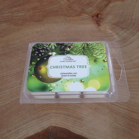 Christmas Tree Soy Wax Melts by Style Candles