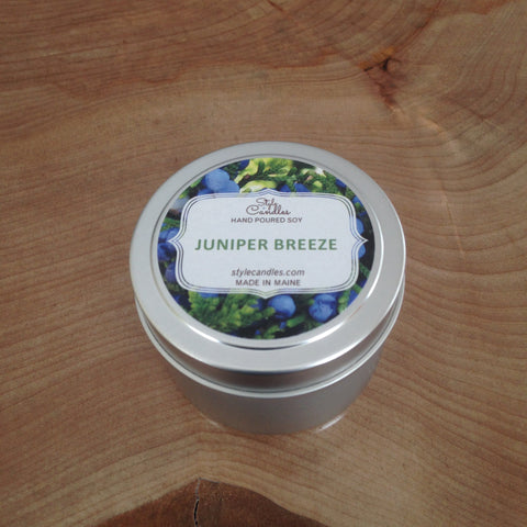 Juniper Breeze Soy Travel Tin by Style Candles